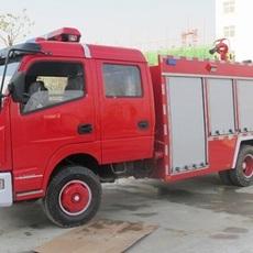 东风多利卡4吨水罐消防车图片