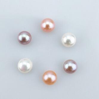 北海珍珠批发  天然淡水珍珠强光无暇3-12mmAAAA 级颗粒珍珠散珠面包珠饰品配件