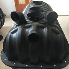 农村旱改厕专用一体三格化粪池