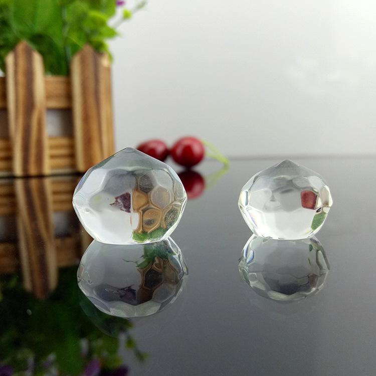 义乌厂批发压型K9料水晶工艺品单频球小号珠子灯饰球配件摆件饰品