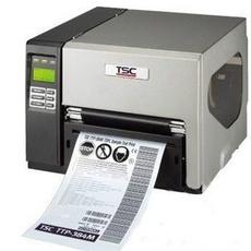 供应宽幅不干胶标签打印机TSC 384M可以打印A4纸尺寸
