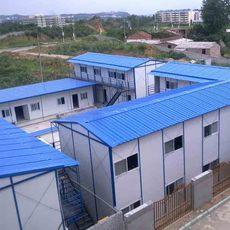 北京厂家直销低价环保新型工地防火保暖复合板彩钢活动房