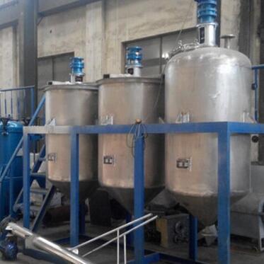 供应 食用油精炼设备生产线 菜籽油小型精炼机组