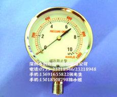 10kpa/15kpa/20kpa/25kpa/30kpa/50kpa过压防止型压力表、微压表