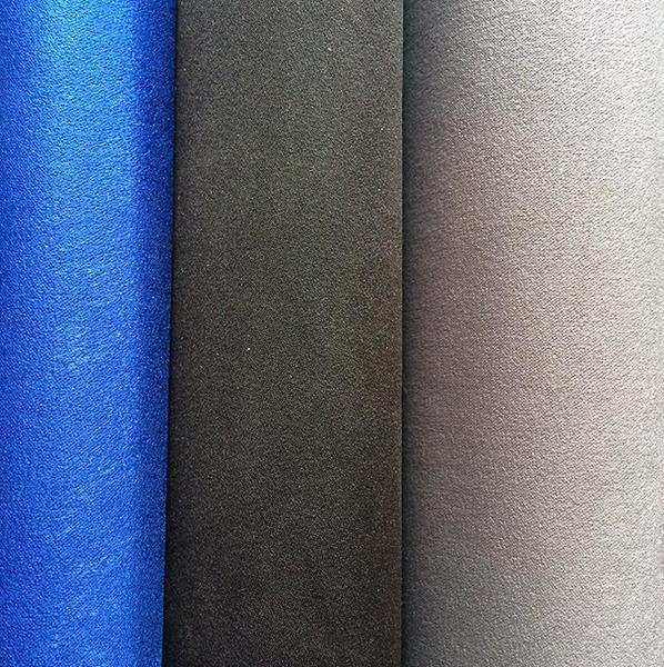 厂家直销 150cm卡丹绒面料 染色箱包布料 秋冬化纤捻丝纺织面料