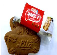 供应新精装 利拉焦糖饼干 新包装配足料味更好 散称称重1*10斤原味