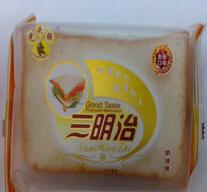供应光头强三明治切片面包 全新口味65克*20包