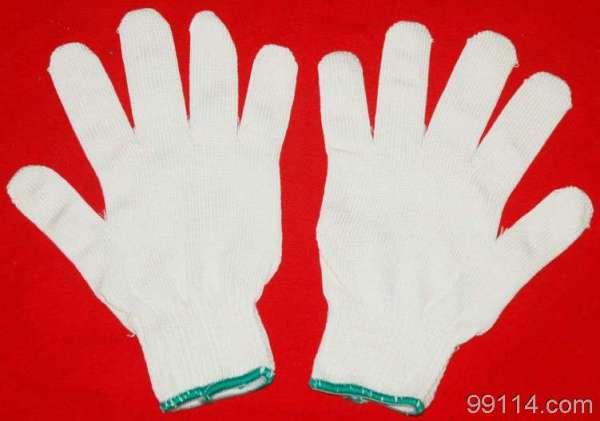 棉纱手套线手套批发 集芳牌厂价现货在中国网库供货