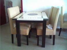 招商加盟火锅桌椅 电磁炉火锅桌椅 酒店火锅店餐厅折叠火锅餐桌