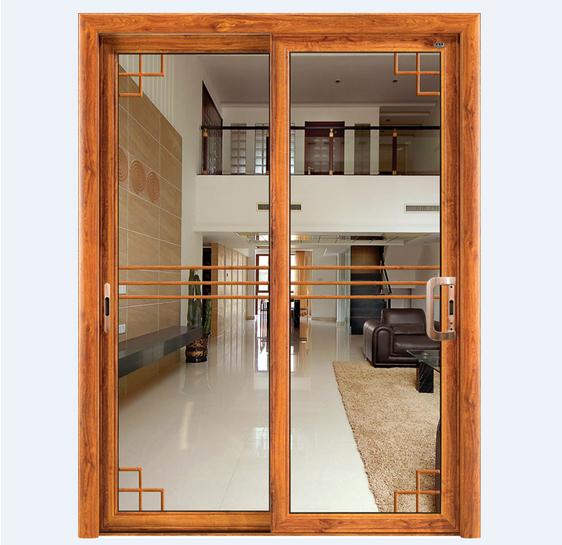 厂家直销铝合金推拉门 室内阳台房间隔断中空玻璃门 优质铝合.
