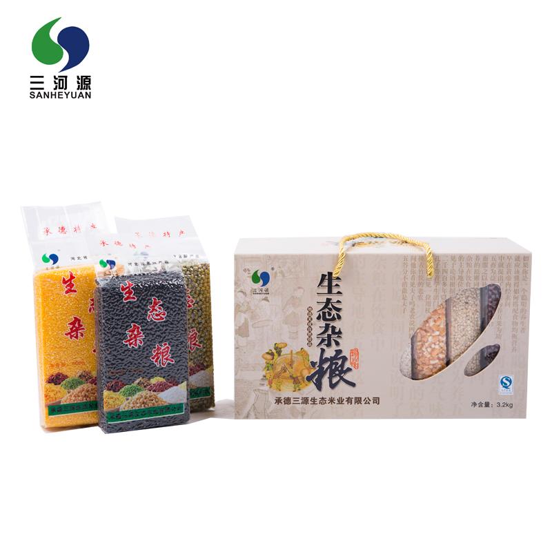 【三河源】生态杂粮礼盒 养生 送礼佳品 3.2kg 8块