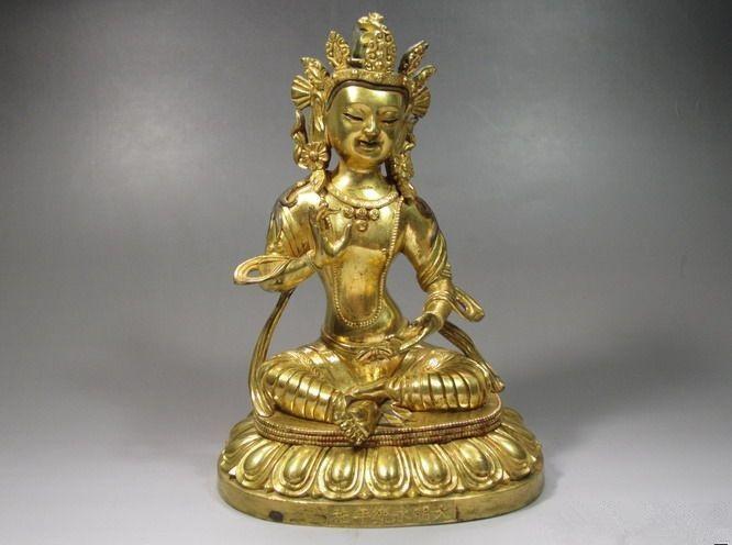明清铜佛像的特征及鉴定