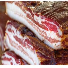 供应 四川正宗农家烟熏腊肉 自制土猪肉烟熏腊五花肉量大从优