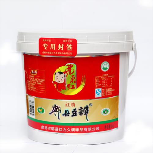 弗来红牌 9A 一级红油豆瓣酱 6kg 豆酱 川菜调料川菜之魂