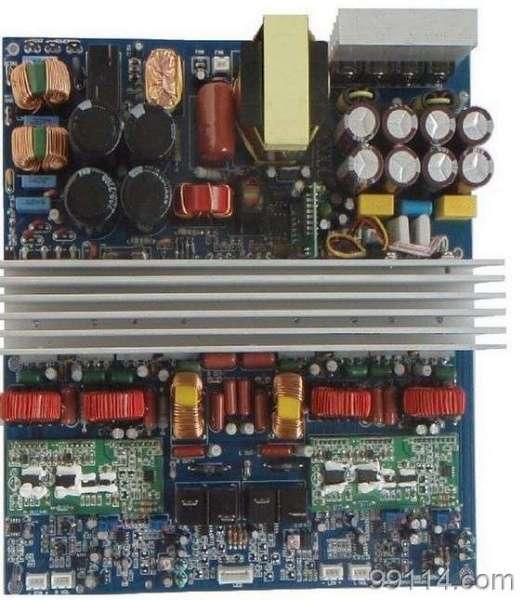 带开关电源800W有源音箱数字功放板