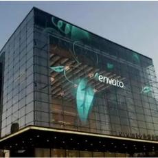 专注玻璃楼体透明广告屏|透明玻璃LED显示屏|玻璃楼体透明LED广告屏|玻璃楼体高清广告屏