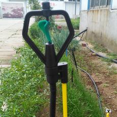 供应地插式蝶形旋转微喷系列 1.2米插杆 农田大棚绿化灌溉专用
