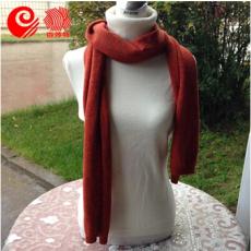 鄂尔多斯百莎特 100%纯羊绒围巾 丝巾 男女通用 秋冬新款 百搭款