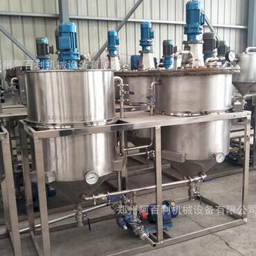 供应 食用油精炼机 各种油精炼加工设备