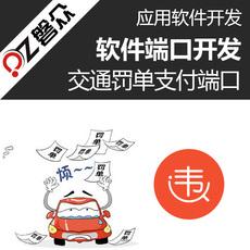 交通罚单支付端口开发车辆违章缴费接口研发定制