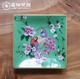 供应中式现代创意方形挂碟纯手绘陶瓷水果盘干果碟家居日用桌面装饰品