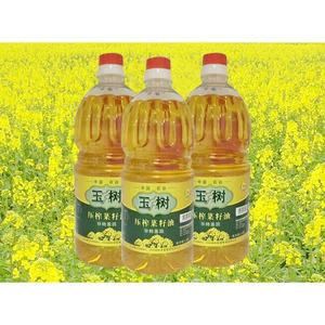 供应 湖北玉树一级压榨菜籽油1.8L非转基因食用油菜油健康植物油