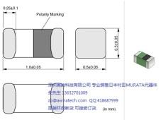 销售村田电感LQG15HS3N6S02D 0402 3.6NH 射频电路用积层电感