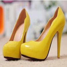 厂家一双起批发细跟高跟真皮单鞋新款浅口单鞋内防水台女鞋