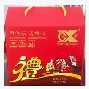 四川特产 正宗川味 厂家直销 创新牌礼盒装2.51kg