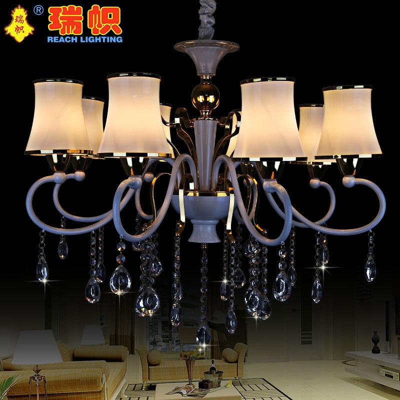 瑞帜,铁艺吊灯 蜡烛灯 水晶吊灯  蜡烛水晶灯 客厅灯 餐厅灯