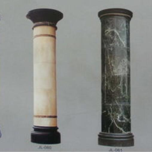 新款欧式柱罗马柱客厅大理石方柱圆柱半圆柱价格–网