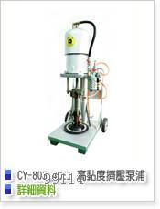 台湾高品质高粘度挤压泵.无气喷涂机cy-803