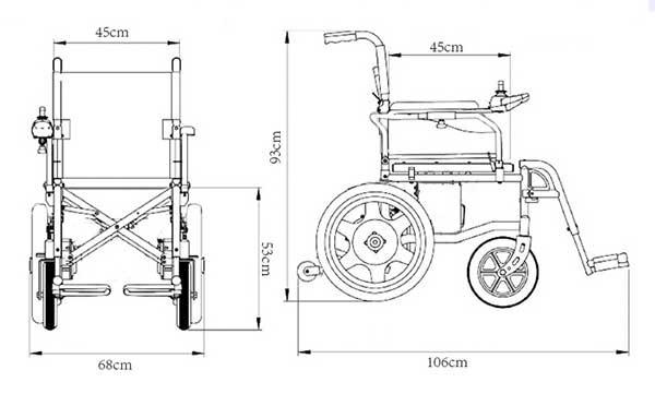青岛金百合轮椅创新促销图片