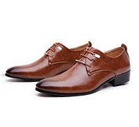一件代发代销 男士尖头皮鞋韩版理发师时尚男单鞋低帮鞋厂家直销
