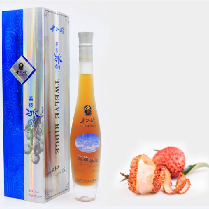 十二岭荔枝冰酒优质健康发酵果酒批发餐前酒