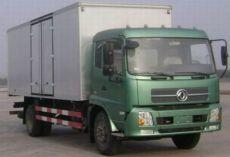 东风厢式货车天锦系列康明斯190马力10吨厢式货车价格