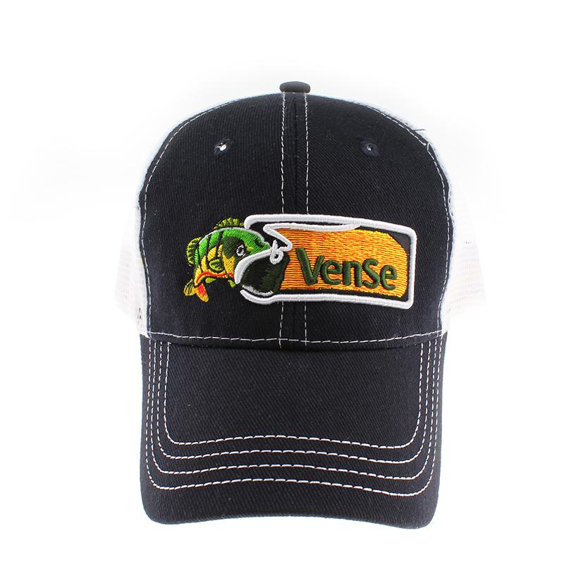 遮阳帽子厂家定做 男女夏季钓鱼活动鸭舌帽 logo刺绣棒球网帽