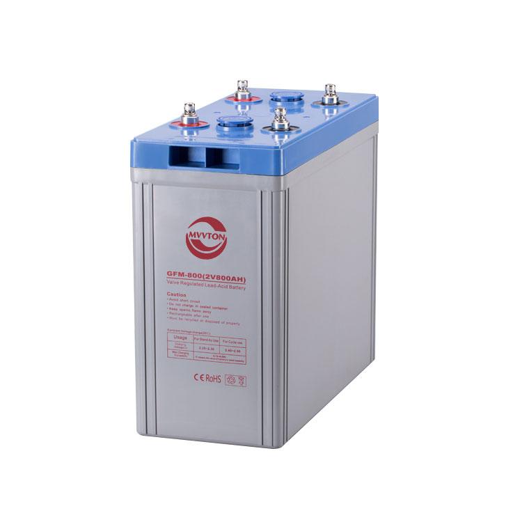 厂家直销 2V800AH免维护铅酸蓄电池 阀控式密闭通信系统储能电瓶