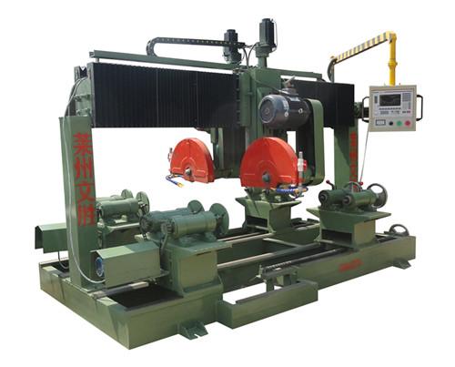 石材设备文胜石材机械异形加工电脑仿形机数控切割机4头圆柱机