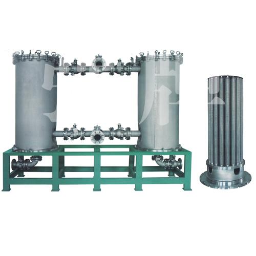 新乡宏强 供应并联过滤器 不锈钢双切换过过滤器 厂家直销