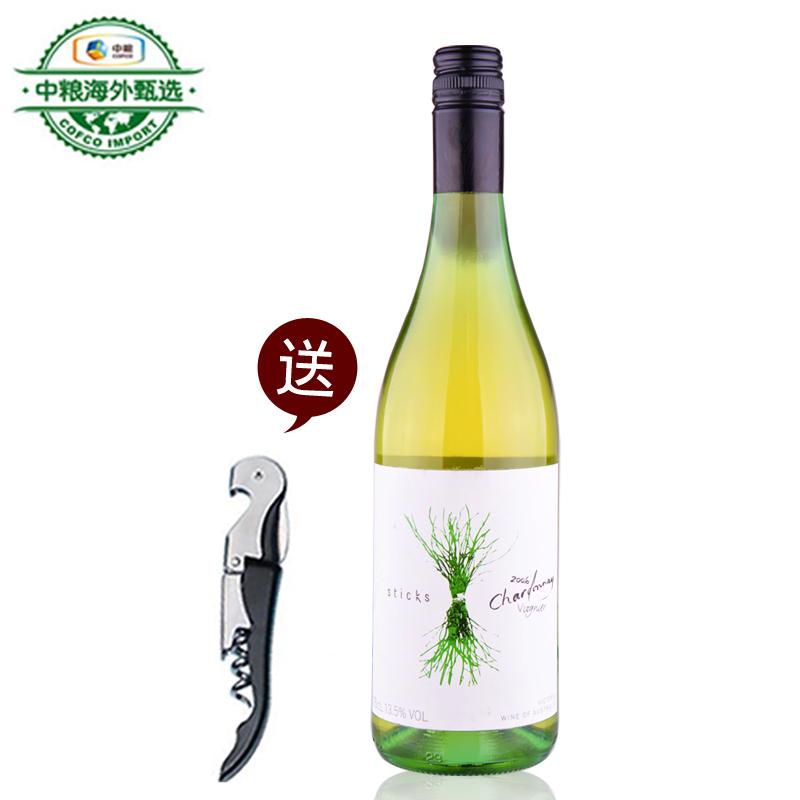 长城名庄荟 中粮进口正品红酒澳大利亚梵雅谷干白葡萄酒单支750ml