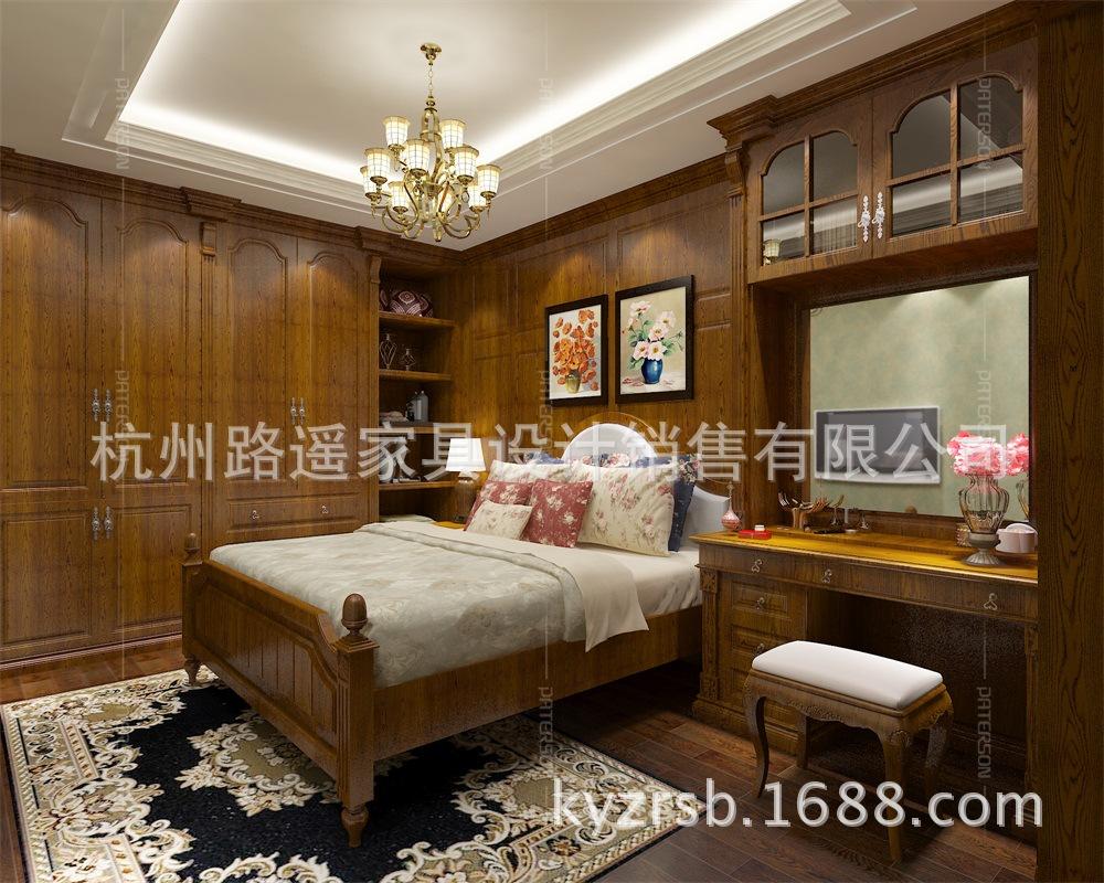 加工定制 实木背景墙护墙板木饰面 豪华美式木饰面 杭州厂家直销
