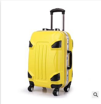 供应 24寸变形金刚铝框品牌拉杆箱ABS+PC万向轮旅行箱登机箱拉杆行李箱