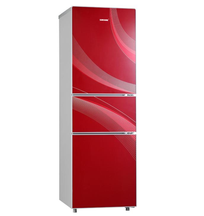 大家电厂家特价批发上海三星三开门冷藏冷冻家用节能小型电冰箱
