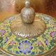 粉彩瓷摆饰装饰品 正品景德镇复古中式陶瓷瓶 山水花卉陶瓷工艺品
