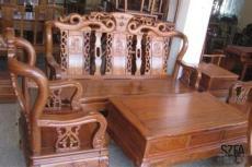 供应 龙德轩仿古红木家具客厅生漆茶几六件套