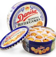 印尼进口 Danisa/皇冠曲奇饼干 丹麦风味曲奇饼干681g/盒
