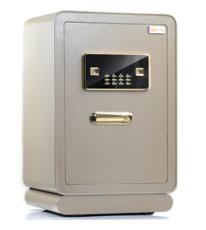 供应60cm象牙白全钢电子办公家用入墙保险柜