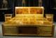 翰林文化 金丝楠木床 双人床 带床头柜 百分百四川小叶桢楠 传统榫卯结构 皇帝木
