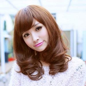 韩版气质 打造属于你的美 可爱漂亮修脸型 女士化纤短卷发假发